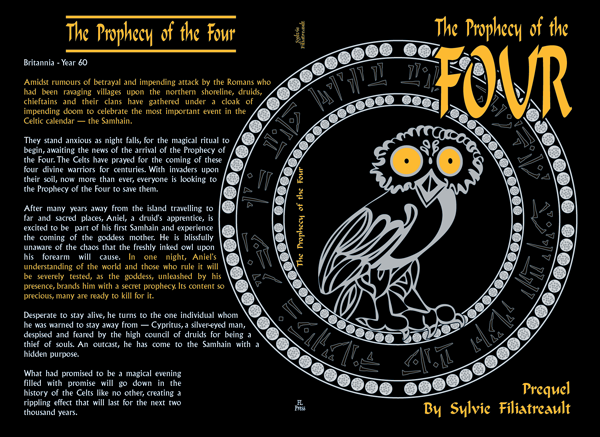 The Prophecy of the Four book cover (full)