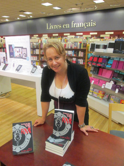 Book Signing - Chapters Rideau